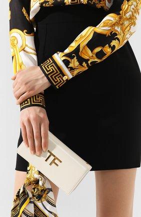 Женская сумка box mini TOM FORD белого цвета, арт. S0342T-LCL056   Фото 2