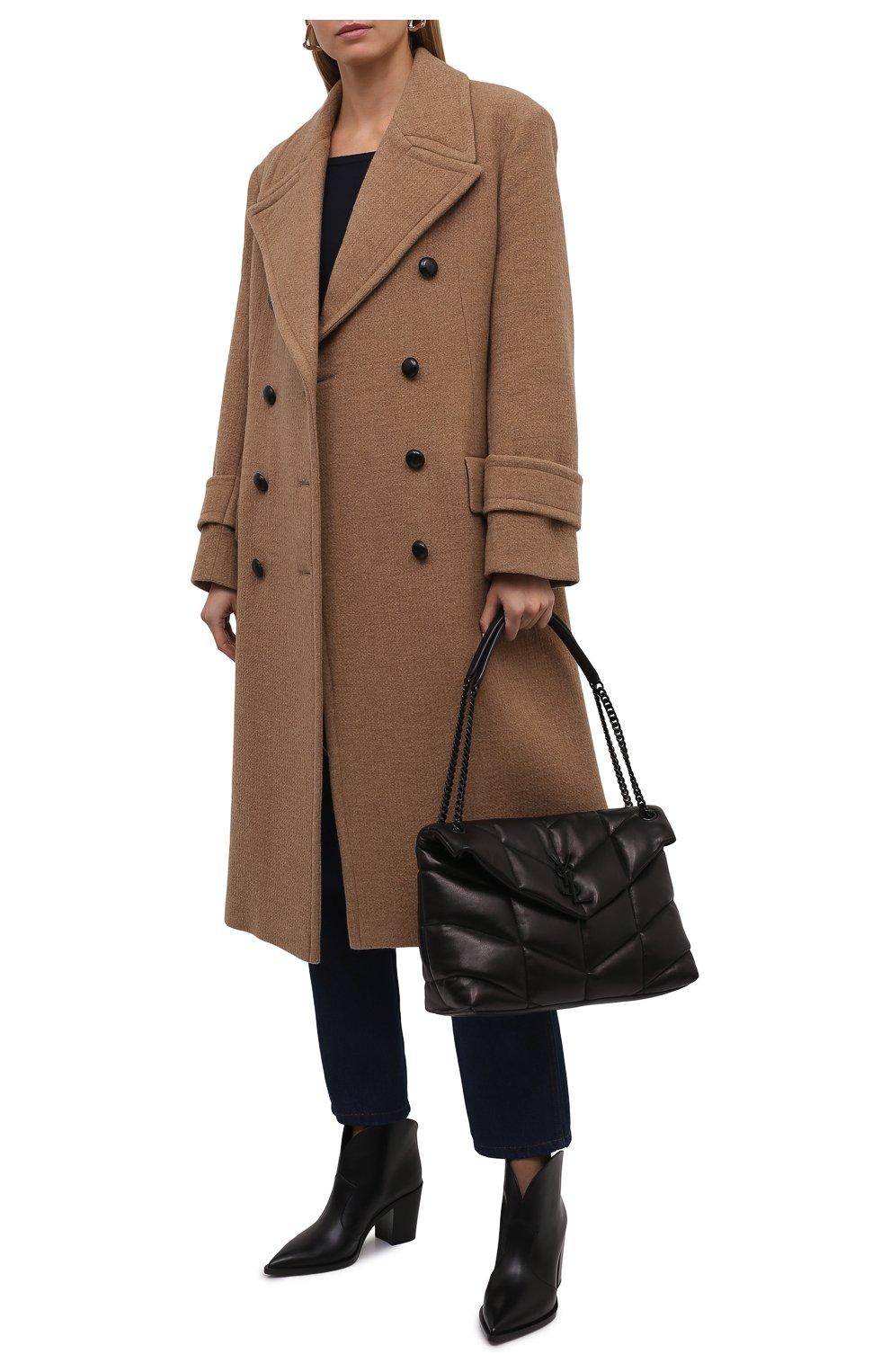 Женские кожаные ботильоны GIANVITO ROSSI черного цвета, арт. G05683.70CU0.VGINER0 | Фото 2 (Каблук высота: Высокий, Средний; Материал внутренний: Натуральная кожа; Каблук тип: Устойчивый; Подошва: Плоская)