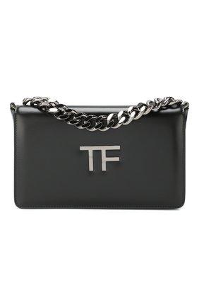 Женская сумка tf chain TOM FORD черного цвета, арт. L1241R-LCL056   Фото 1