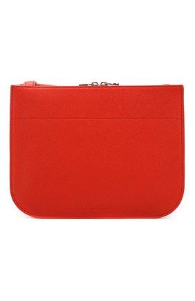 Женская сумка milky way LORO PIANA красного цвета, арт. FAL0084 | Фото 1 (Ремень/цепочка: На ремешке; Материал: Натуральная кожа; Размер: small; Сумки-технические: Сумки через плечо)