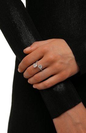 Женское кольцо attract SWAROVSKI серебряного цвета, арт. 5535191 | Фото 2