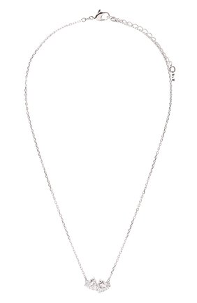 Женская кулон attract на цепочке SWAROVSKI серебряного цвета, арт. 5517117 | Фото 1
