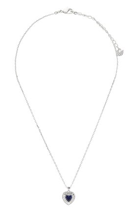 Женская кулон heart на цепочке SWAROVSKI серебряного цвета, арт. 5511541   Фото 1