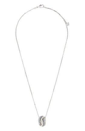 Женская кулон further SWAROVSKI серебряного цвета, арт. 5537106 | Фото 1