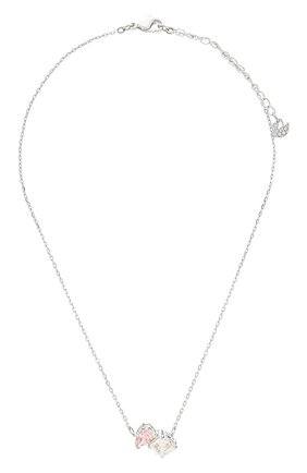 Женская кулон attract на цепочке SWAROVSKI серебряного цвета, арт. 5517115 | Фото 1