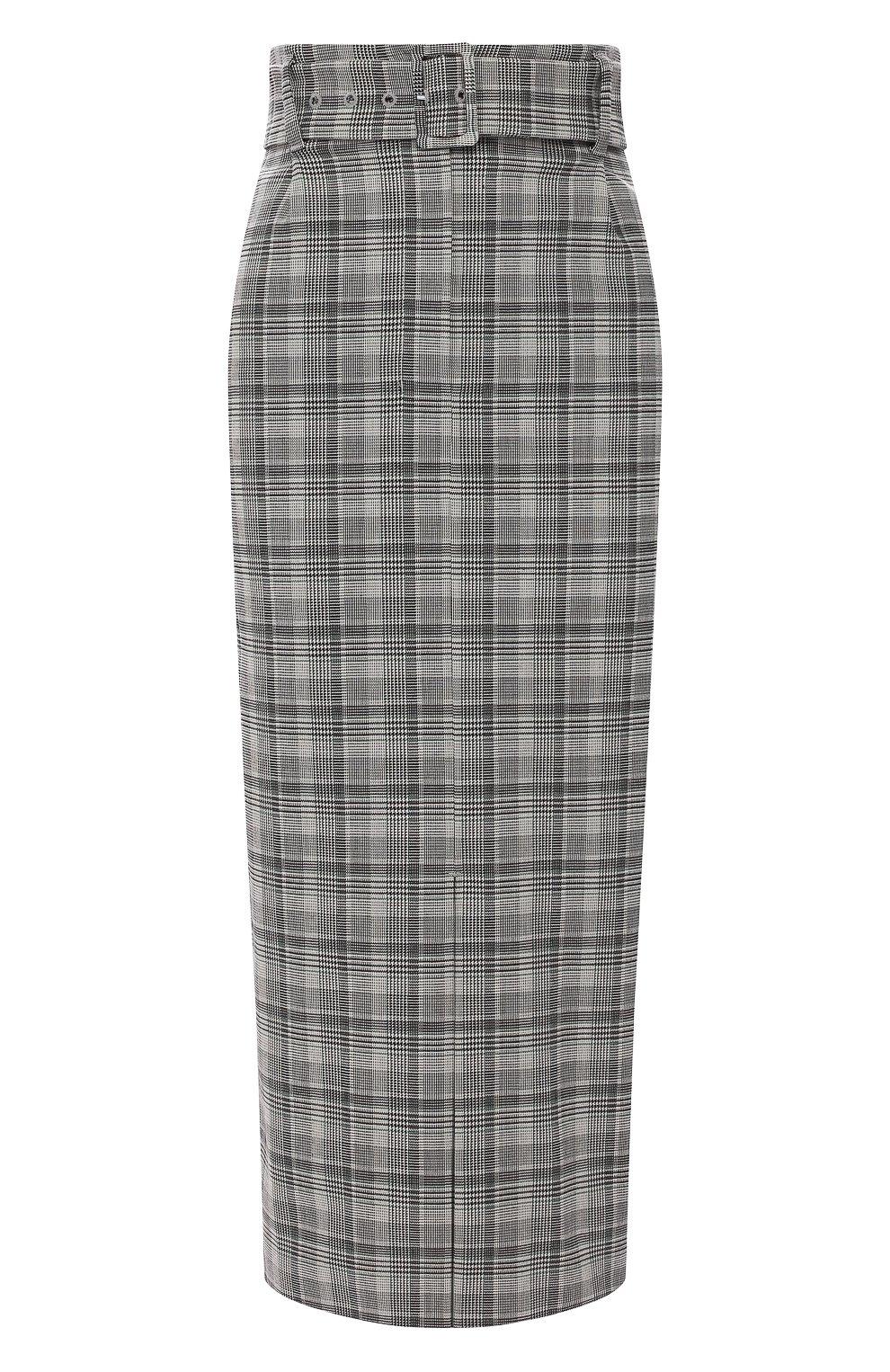 Женская юбка BOSS серого цвета, арт. 50420054 | Фото 1
