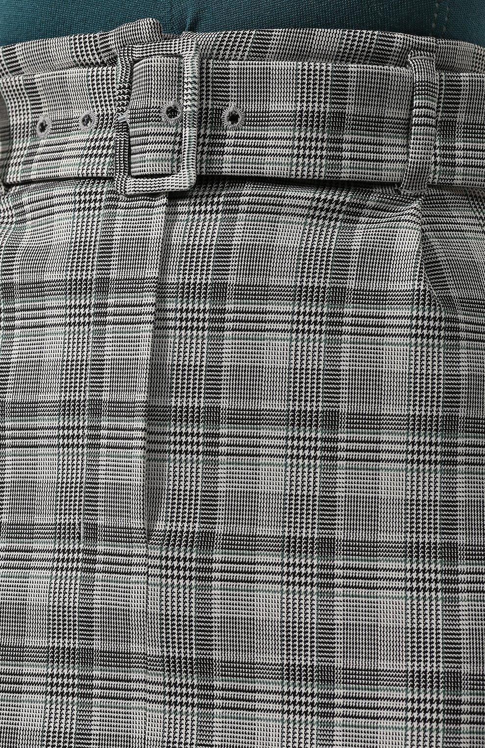 Женская юбка BOSS серого цвета, арт. 50420054 | Фото 5