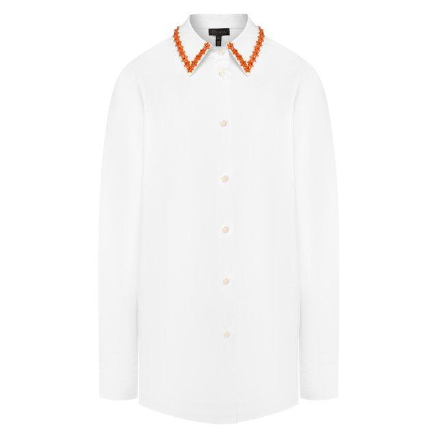 Хлопковая рубашка Escada