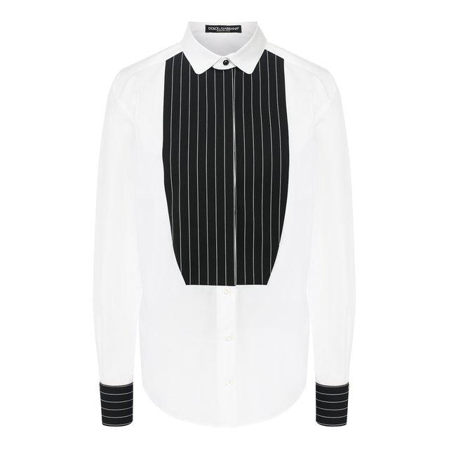 Хлопковая рубашка Dolce & Gabbana