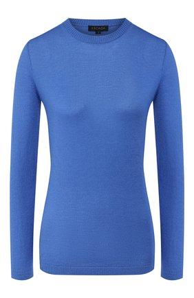 Женский кашемировый пуловер ESCADA голубого цвета, арт. 5032586 | Фото 1