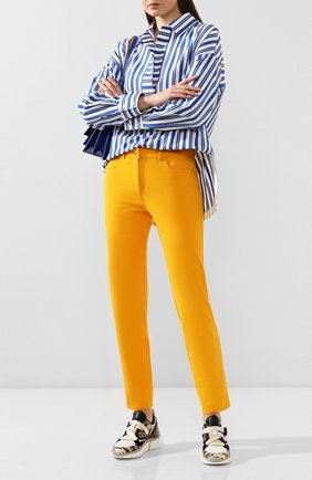 Женские джинсы ESCADA желтого цвета, арт. 5028283 | Фото 2