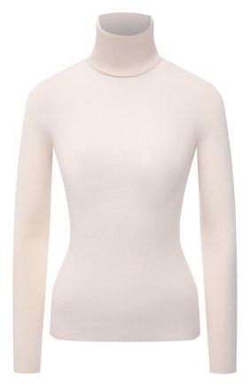 Женская шерстяная водолазка GUCCI бежевого цвета, арт. 467680/XKA7X | Фото 1 (Материал внешний: Шерсть; Длина (для топов): Стандартные; Рукава: Длинные; Стили: Кэжуэл; Женское Кросс-КТ: Водолазка-одежда; Статус проверки: Проверена категория)