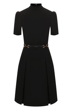 Женское платье GUCCI черного цвета, арт. 598881/XJBY0   Фото 1