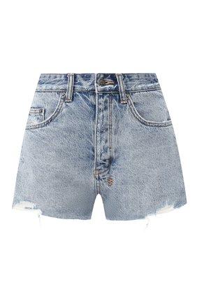 Женские джинсовые шорты KSUBI голубого цвета, арт. 5000004235 | Фото 1