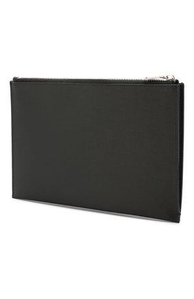 Мужская кожаный футляр для документов SAINT LAURENT черного цвета, арт. 375950/BTY0N | Фото 2