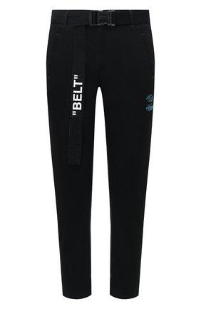 Мужские джинсы OFF-WHITE черного цвета, арт. 0MCG017R20D050011000 | Фото 1