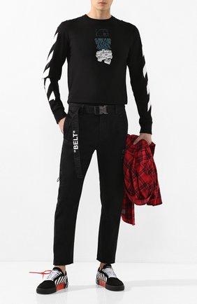 Мужские джинсы OFF-WHITE черного цвета, арт. 0MCG017R20D050011000 | Фото 2