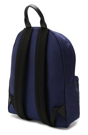Мужской текстильный рюкзак VERSACE темно-синего цвета, арт. DFZ5350/DNYVER | Фото 3