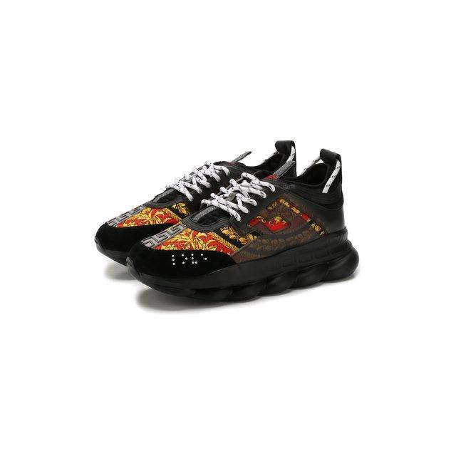 Комбинированные кроссовки Chain Reaction Versace — Комбинированные кроссовки Chain Reaction