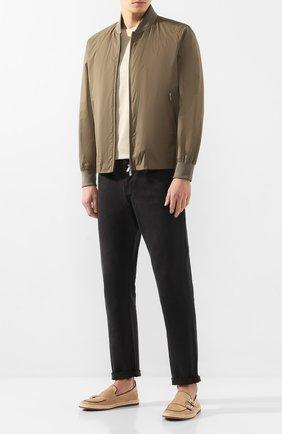 Мужские замшевые монки ALDO BRUE бежевого цвета, арт. AB8128J-VE | Фото 2