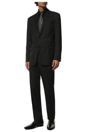 Мужские кожаные лоферы ALDO BRUE черного цвета, арт. AB4058J-NL | Фото 2