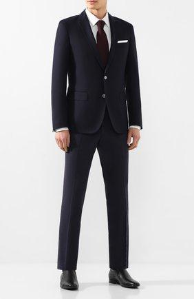 Мужские кожаные лоферы ALDO BRUE черного цвета, арт. AB4057J-NL | Фото 2 (Материал внутренний: Натуральная кожа; Стили: Классический)