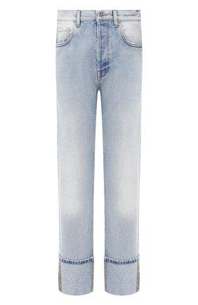 Мужские джинсы VALENTINO голубого цвета, арт. TV3DE00FKHL | Фото 1