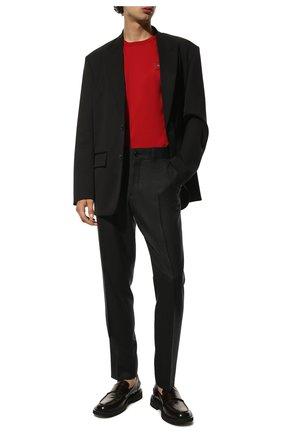Мужская хлопковая футболка DOLCE & GABBANA красного цвета, арт. G8KJ9T/FU7EQ   Фото 2