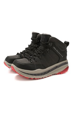 Мужские кожаные ботинки ugg x white mountaineering 805 hiker UGG черного цвета, арт. 1108650_BLK | Фото 1
