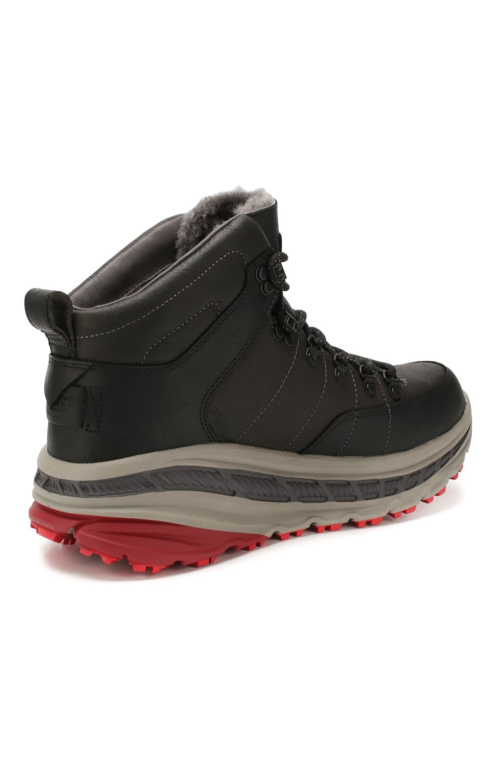 Мужские кожаные ботинки ugg x white mountaineering 805 hiker UGG черного цвета, арт. 1108650_BLK   Фото 4