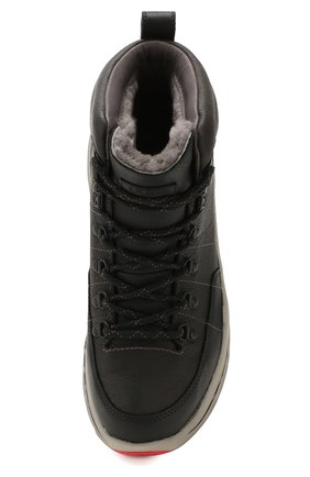 Мужские кожаные ботинки ugg x white mountaineering 805 hiker UGG черного цвета, арт. 1108650_BLK   Фото 5