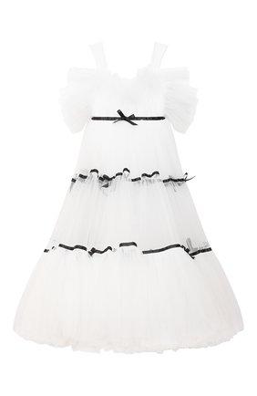 Детское платье lesley SASHA KIM белого цвета, арт. УТ-00000300 | Фото 1