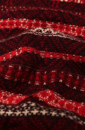 Детский кашемировый шарф LORO PIANA красного цвета, арт. FAI8418 | Фото 2