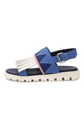 Кожаные сандалии   Фото №2