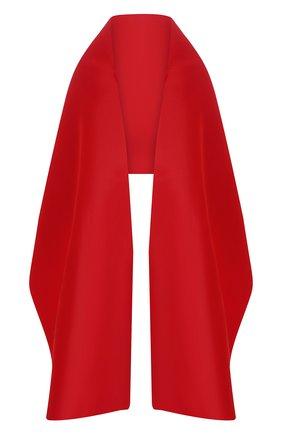 Женская шелковая шаль DOLCE & GABBANA красного цвета, арт. FS260A/FU1T1 | Фото 1