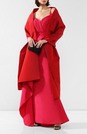 Женская шелковая шаль DOLCE & GABBANA красного цвета, арт. FS260A/FU1T1 | Фото 2