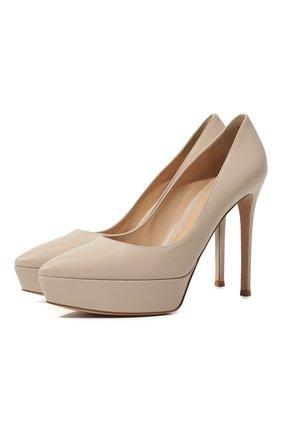 Кожаные туфли Dasha | Фото №1