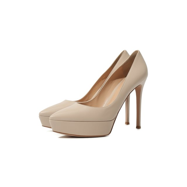 Кожаные туфли Dasha Gianvito Rossi