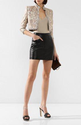 Замшевые босоножки Lauren | Фото №2