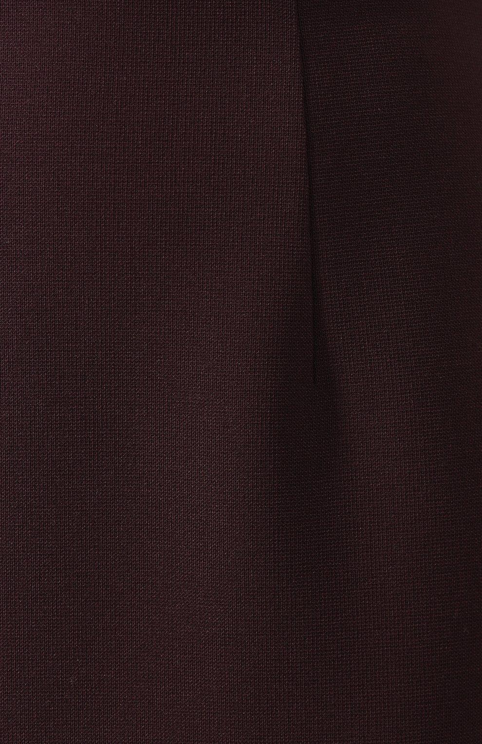 Женская юбка BOSS бордового цвета, арт. 50419684 | Фото 5