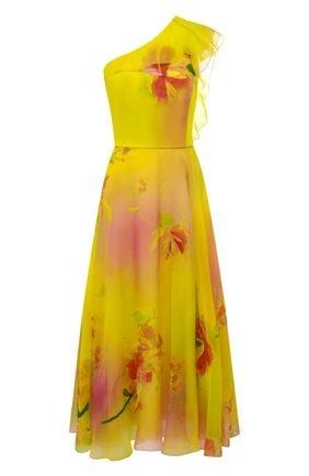 Женское шелковое платье RALPH LAUREN разноцветного цвета, арт. 290791386 | Фото 1