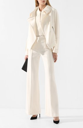 Женские брюки DOROTHEE SCHUMACHER белого цвета, арт. 642403/S0PHISTICATED PERFECTI0N | Фото 2