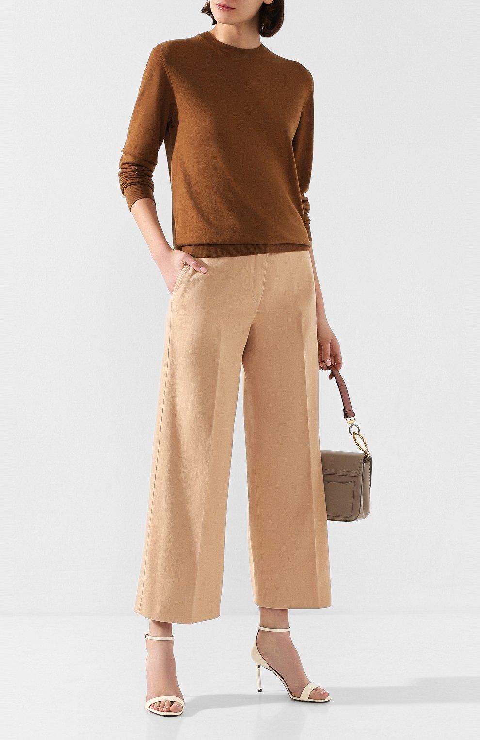 Женские джинсы LORO PIANA бежевого цвета, арт. FAL0314 | Фото 2