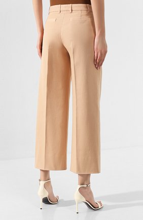 Женские джинсы LORO PIANA бежевого цвета, арт. FAL0314 | Фото 4