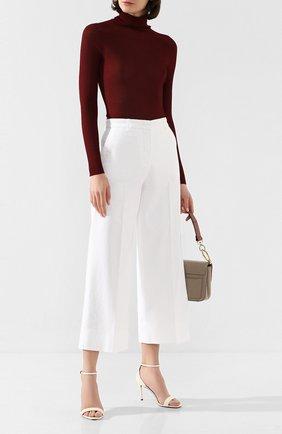 Женские джинсы LORO PIANA белого цвета, арт. FAL0314 | Фото 2