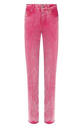 Женские джинсы GANNI розового цвета, арт. F4386 | Фото 1
