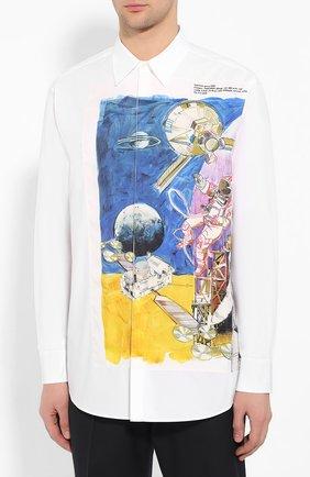 Хлопковая рубашка | Фото №3