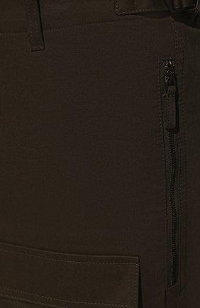 Мужские хлопковые брюки VALENTINO хаки цвета, арт. TV3REA755TU | Фото 5