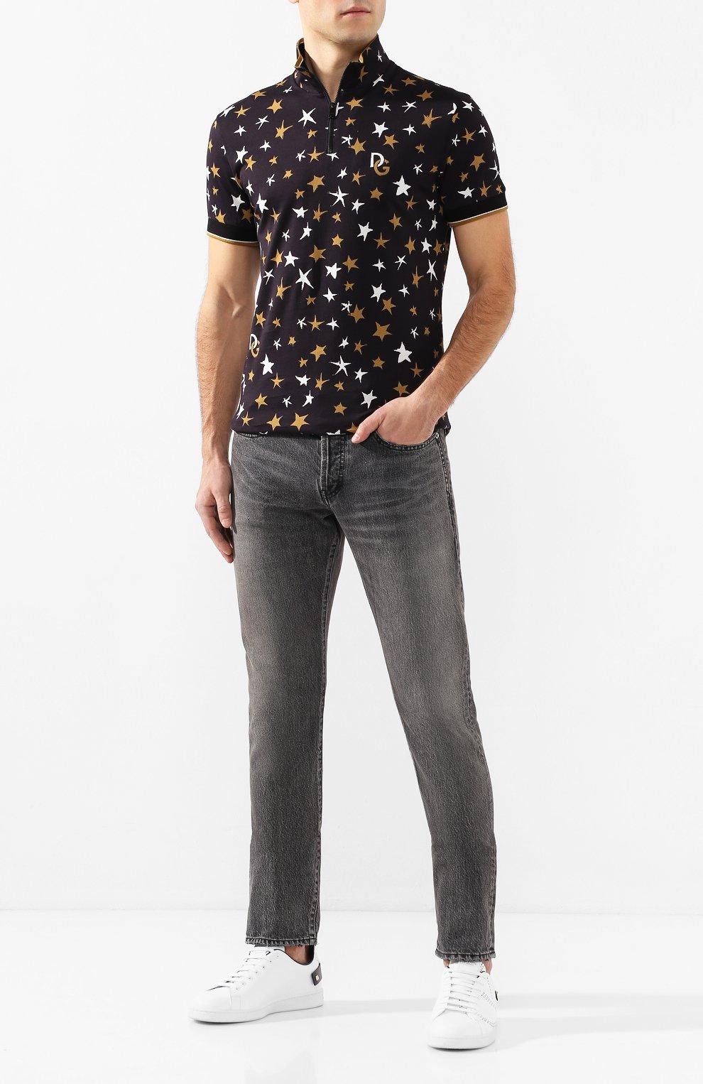 Мужские джинсы SAINT LAURENT темно-серого цвета, арт. 597052/Y8990   Фото 2