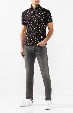 Мужские джинсы SAINT LAURENT темно-серого цвета, арт. 597052/Y8990 | Фото 2